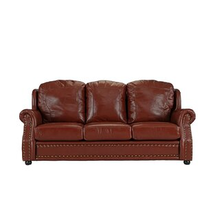 Hintz Leather Sofa