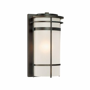Reviews Akilah 1-Light Outdoor Sconce By Bloomsbury Market