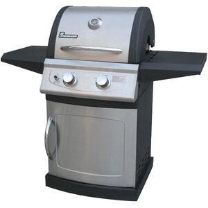 Falcon Series 2-Burner Propane Gas Grill with Cabinet