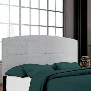 Leblanc Upholstered Panel Headboard by Wrought Studio