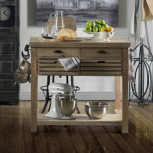 Clearfield Kitchen Cart Solid Wood