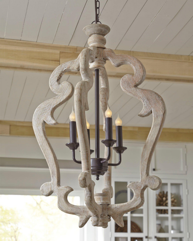 Montigny 4 light foyer pendant