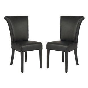 Red Barrel Studio Creston Upholstered Dining Chair (Set of 2)