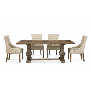 Fereol 5 Piece Dining Set by One Allium Way