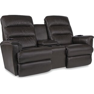 Shop Tripoli Leather Power Reclining Loveseat by La-Z-Boy