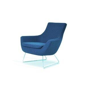 Orren Ellis Engles Wool Lounge Chair