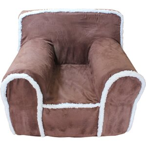 Kids Box Cushion Armchair Slipcover by Littl..