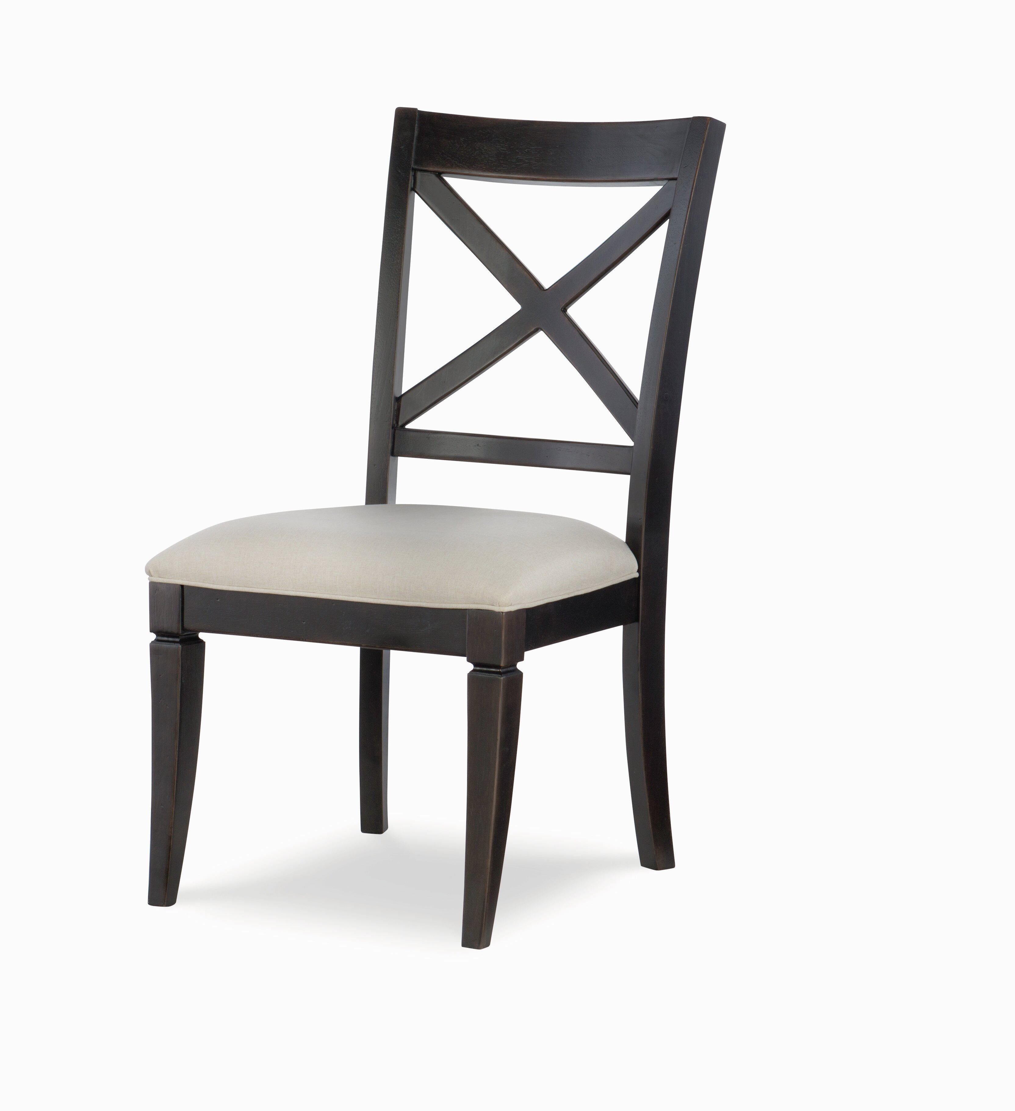 Rachael Ray Home Everyday Dining Upholstered Cross Back Side Chair Reviews Wayfair