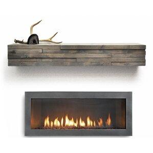 Modern & Contemporary Fireplace Mantels You'll Love | Wayfair