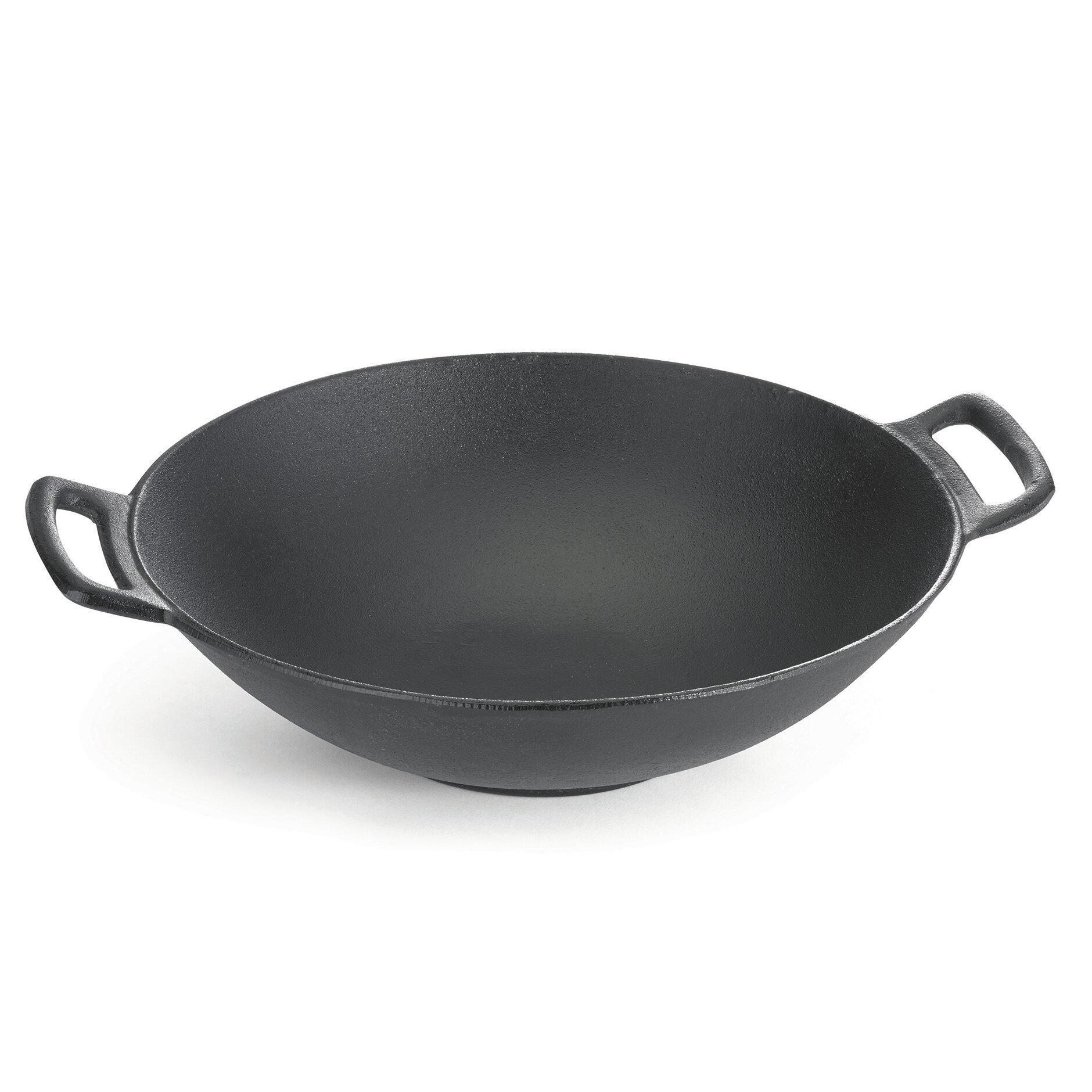 Casserole Induction Compatible Vitroceramique tablecraft 14 in. cast iron wok