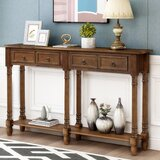 Pang 34'' Console Table by Rosalind Wheeler
