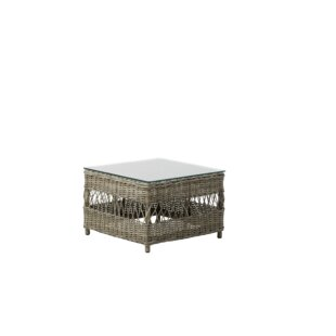 Outlook Glass Side Table by Bungalow Rose
