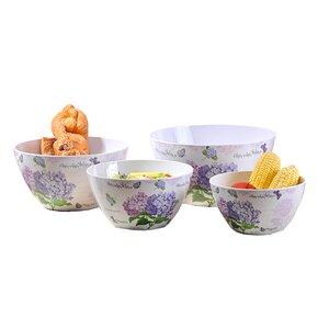 Helenie Melamine Salad bowl 4-Piece-Set