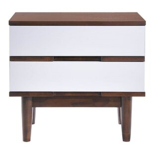 Affordable Dutcher 2 Drawer Nightstand by Corrigan Studio