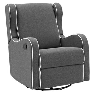 Awesome Rowe Upholstered Manual Reclining Glider Recliner Pabps2019 Chair Design Images Pabps2019Com