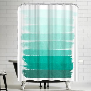 Ombre Single Shower Curtain