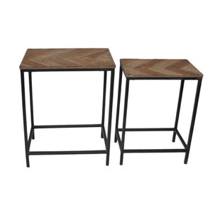 Arsenault 2 Piece Nesting Table by Williston Forge