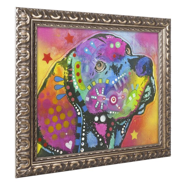 'Psychedelic Lab' Ornate Framed - Psychedelic Wall Art Decor