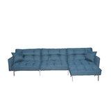 Zaanstad 109 Reversible Sleeper Sofa & Chaise by Orren Ellis