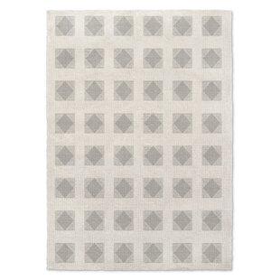 Find the perfect Jonie Block Gray/White Area Rug ByLatitude Run