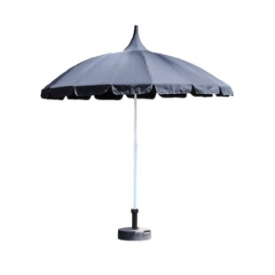Quebec 2.2m Traditional Parasol By Freeport Park