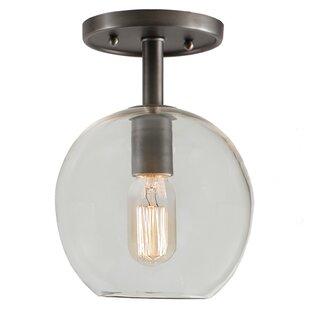 Baptiste 1-Light Semi Flush Mount by Ebern Designs