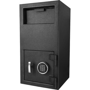 Standard Depository Safe with Electronic and Key Lock by Barska