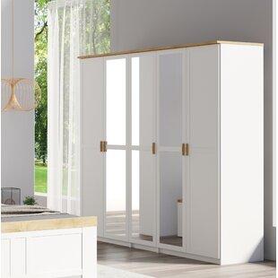 Leonel 5 Door Wardrobe By August Grove
