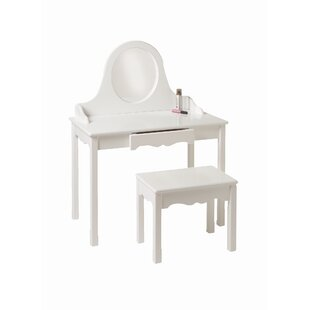 Bargain Vanity Set with Mirror ByLittle Colorado