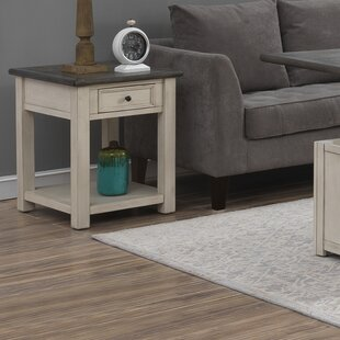 Bernard End Table with Storage
