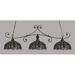 Copeland 3-Light Billiard Light by Astoria Grand