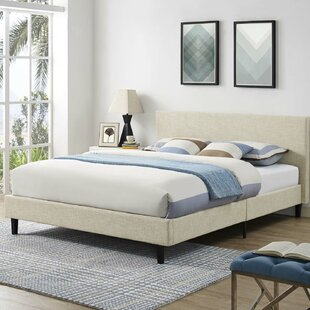 Tafolla Fabric Full Upholstered Panel Bed by Wrought Studio