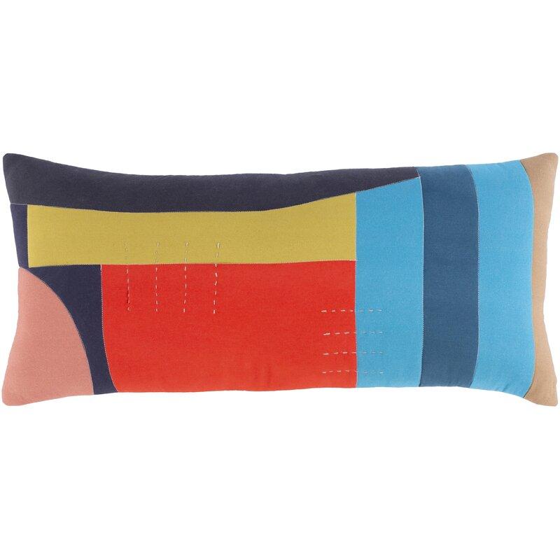 Ahnah Cotton Lumbar Pillow Cover Allmodern