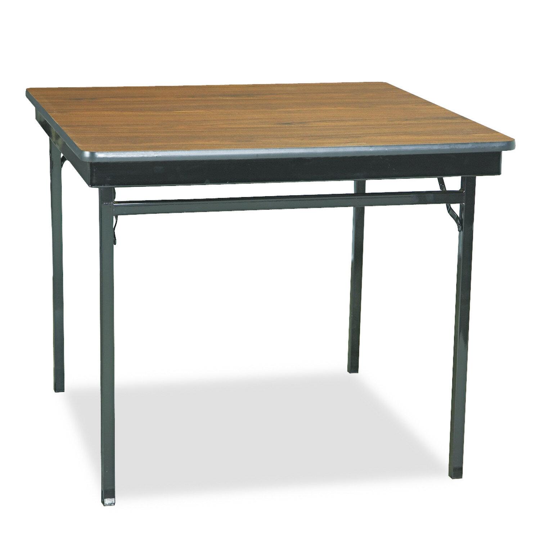 Barricks Manufacturing Co 36 Square Folding Table Reviews Wayfair
