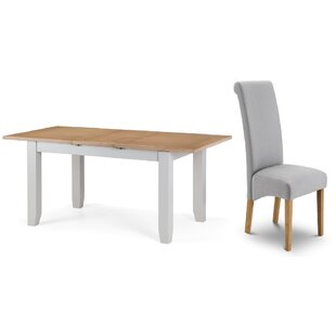 Review Port Mahon Extendable Dining Set With 6 Chairs