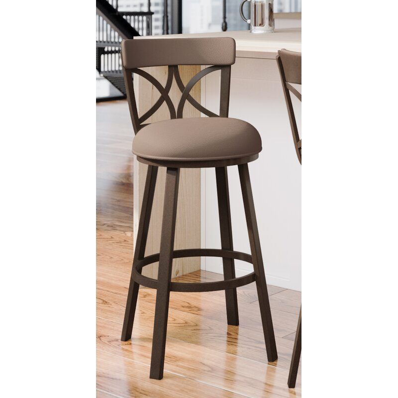Winston Porter Bexhill Swivel Bar Counter Stool Reviews Wayfair