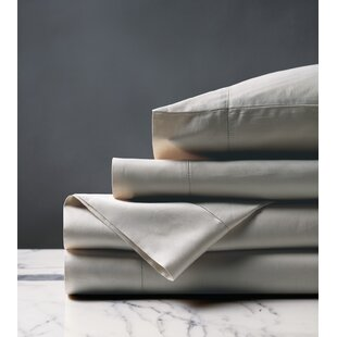 Brax 300 Thread Count Solid Color 100% Cotton Sheet Set