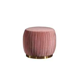 Spielberg Pleated Dressing Table Stool By Canora Grey