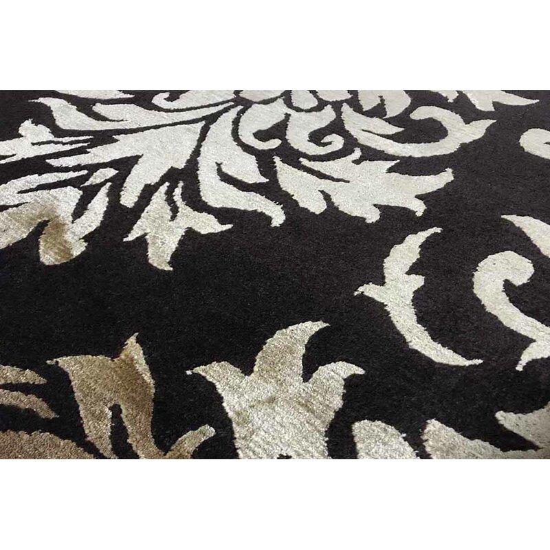Bokara Rug Co Inc Himalayan Damask Handwoven Wool Brown Beige Area Rug Wayfair