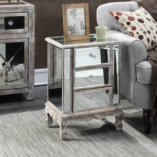 Rhys End Table with Storage by Willa Arlo Interiors