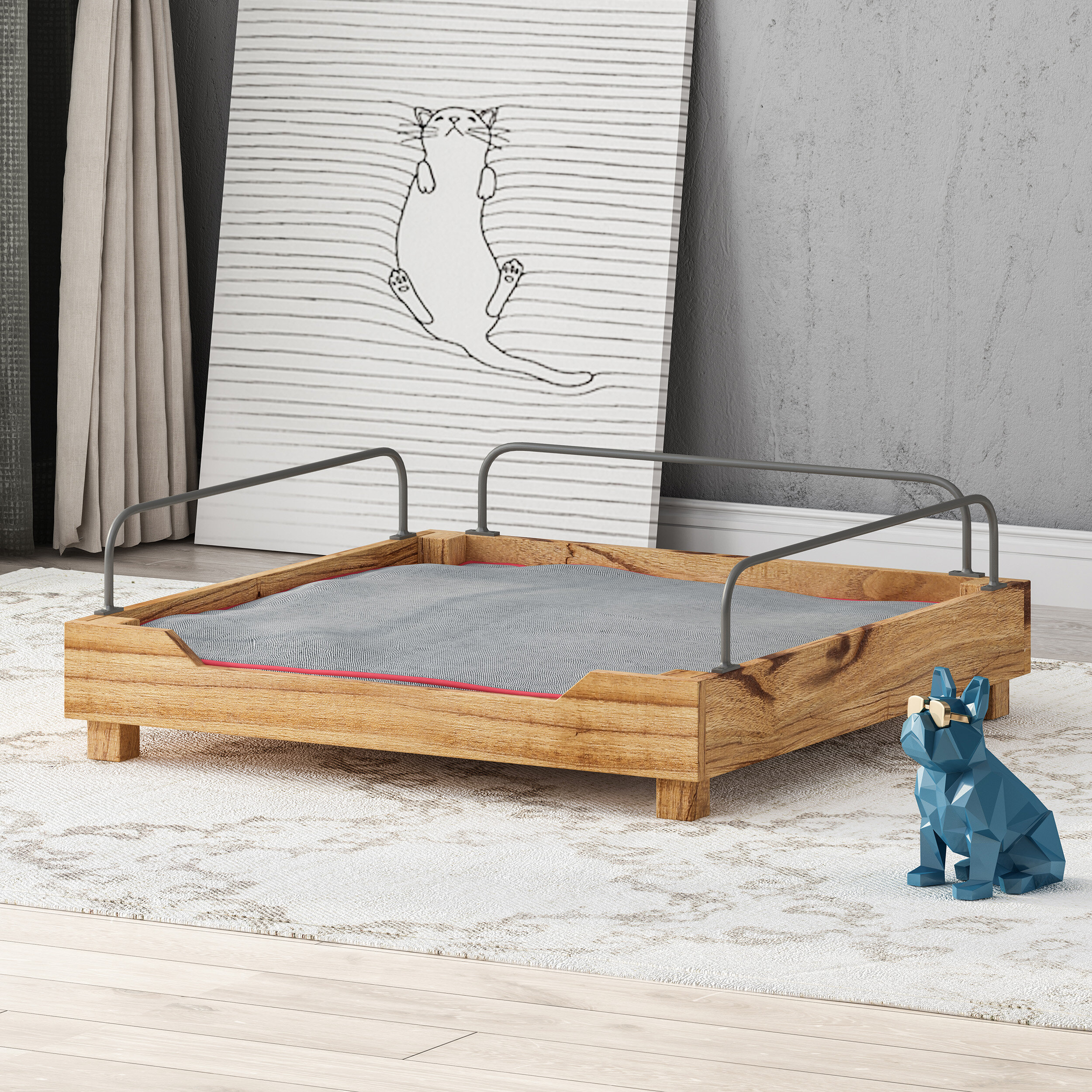 Wood Frame All Dog Beds You Ll Love In 2021 Wayfair