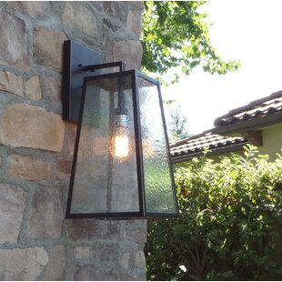 Inexpensive Devaney LED Outdoor Wall Lantern By Ivy Bronx