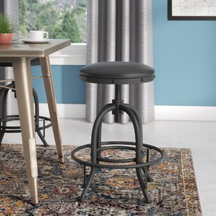 Erik Adjustable Height Swivel Bar Stool