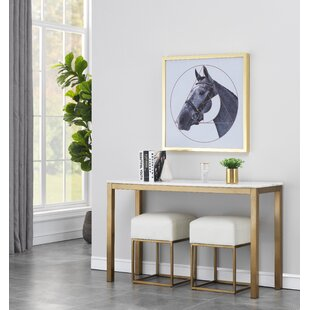 Scituate Console Table by Everly Quinn Today Sale Only