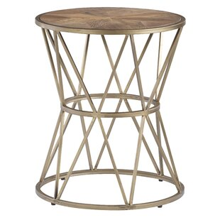 Kirchoff Round End Table By Wrought Studio