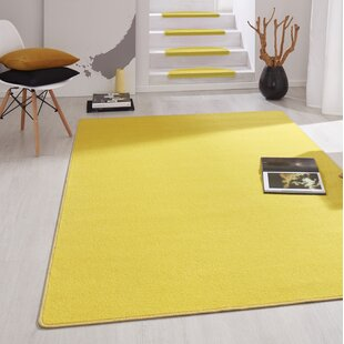 Fancy Yellow Stair Tread (Set of 15) by Hanse Home