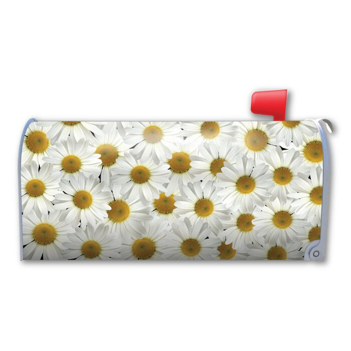 Daisies Magnetic Mailbox Cover