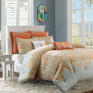 West Broadway Comforter Set by Red Barrel Studio