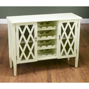 AA Importing Bar Cabinet with Wine Storage