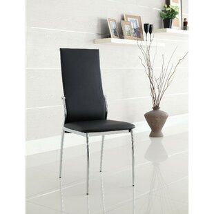 Boos High Back Upholstered Dining Chair (Set of 4) by Orren Ellis